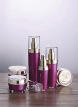 RL03玫瑰花系列膏霜乳液瓶化妆品包装套装